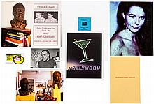 Group of Charles Bukowski items