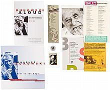 Small group of Bukowski items
