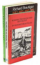 Four volumes by Richard Brautigan
