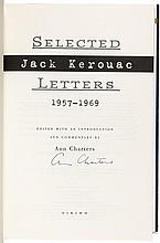 Three volumes about Jack Kerouac, signed - one is also signed by Lawrence Ferlinghetti