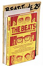 Five volumes on Beat literature - Including a few signed by Ferlinghetti and Cherkovski