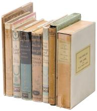 Nine novels by Willa Cather - First Trade Editions