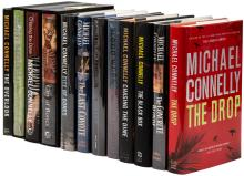 Twelve novels by Michael Connelly - six are signed