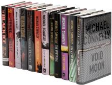 Twelve novels by Michael Connelly - six signed