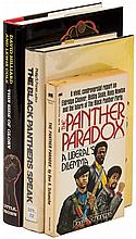 Three volumes about the Black Panthers, two signed