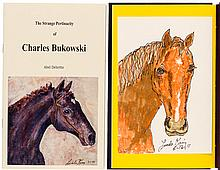 The Strange Pertinacity of Charles Bukowski - two editions