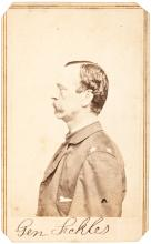 Carte-de-visite photograph of Union General Daniel Edgar Sickles