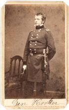 Carte-de-visite photograph of Union General Joseph Hooker
