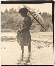 Five photograph albums with over 1,000 photographs taken by a young Japanese woman living in California in the 1920s and 1930s