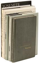 Seven volumes on the photography of Ansel Adams - all signed by him
