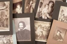 Approximately 425 original albumen (& a few silver) photographs of paintings and other artwork from classical times to the end of the 19th century