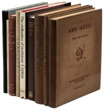 Lot of eight volumes on Archaeology in The Middle East, Africa and Greece