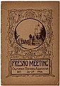 Bulletin Announcement of the Fresno Meeting of the California Teachers' Association at Fresno, December 26-29, 1906