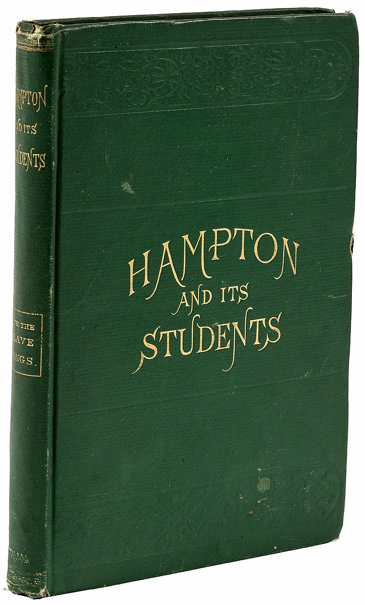 Two volumes from the Hampton Institute in Virginia