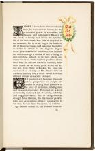 Art and Life - One of 109 copies printed on Japan vellum, inscribed to Elbert Hubbard's sister