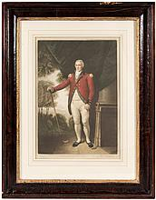Henry Callender Esq. - color mezzotint