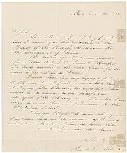 Autograph Letter Signed, from Charles Hermite, the
