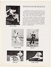 Official Program featuring Bruce Lee's Karate Debut at the International Karate Championships, Los Angles (i.e. Long Beach), 1964, plus 1965 program