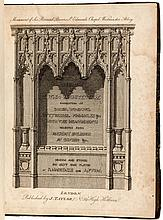 Specimens of Gothic Architecture Consisting of Doors, Windows, Buttresses, Pinnacles &c.; With the Measurements Selected from Ancient Buildings at Oxford &c;.