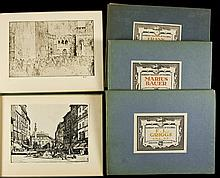 Seven volumes from the Modern Masters of Etching series