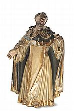 S. Domingos de Gusmão, esc. em madeira, séc. XVIII