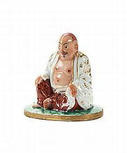 Paliteiro em porcelana, Buda