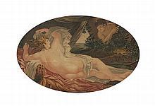 Gravura. O Descanso de Venus. Emoldurada.