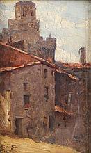 João Reis, óleo sobre madeira, 31 x 19 cm.