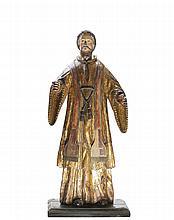 Santo, escultura em madeira, séc. XVII