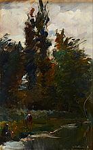 MEDINA, Óleo sobre madeira, 17,3 x 10,9 cm.