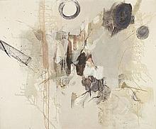 JÚLIO POMAR, Acrílico sobre tela, 65 x 81 cm.