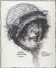 Jorge Barradas, Desenho s/papel, 18 x 15