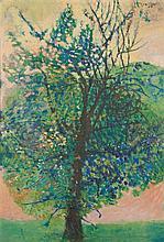 SÁ NOGUEIRA, Árvore, Óleo sobre tela,130 x 89 cm.