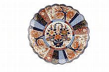 Prato em porcelana japonesa