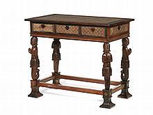 Mesa estilo indo-português, séc. XIX