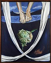 QUARESMA, óleo s/tela, 99 x 81 cm.