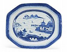 Grande travessa em porcelana chinesa dita