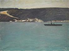 ALICE JORGE, óleo s/ tela, 54 x 73 cm