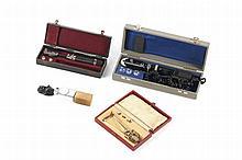 Lote de vários instrumentos de oftalmologia