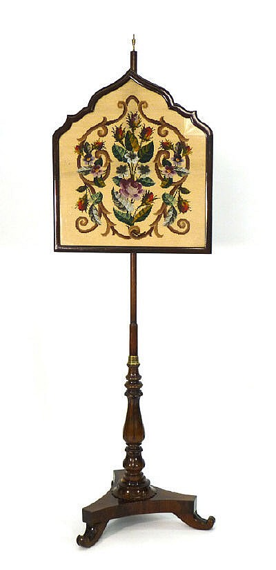 An early 19th century rosewood and gilt metal