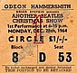[ Rock, Pop and Film Memorabilia ] Ticket for Another Beatles Christmas Show at the Odeon, Hammersmith dated  December 28th 1964