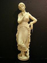 GRECIAN Inspired Female Statue: