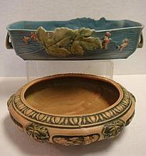 ROSEVILLE FLORENTINE & BUSHBERRY Bowls: