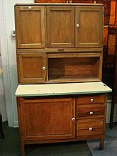 Ca 1920's QUAKERMAID HOOSIER TYPE Cabinet:
