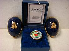 HALCYON DAYS MICKEY MOUSE & LIMOGES Trinket Boxes: