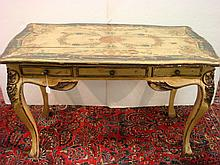 FURNITURE CLASSICS Hand Painted French Style Desk: