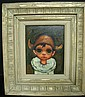 Original signed OZZ FRANCA Oil on Canvas: