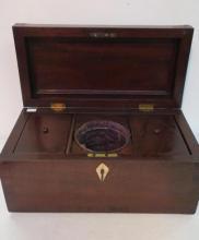 Early 19th C. Sheridan Tea Caddy: