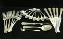 GORHAM and WALLACE Sterling Silver Flatware: