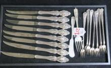 Sterling Silver and Silver Plate Flatware: